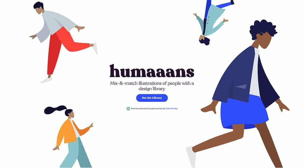 image of humaaans home page
