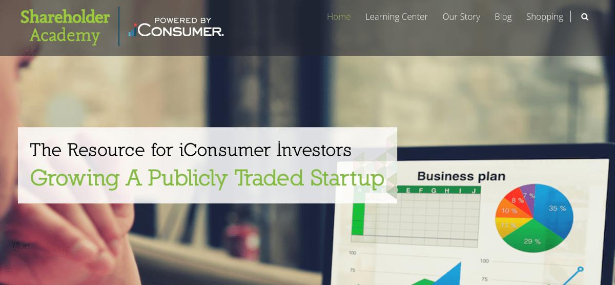 iconsumer shareholder academy