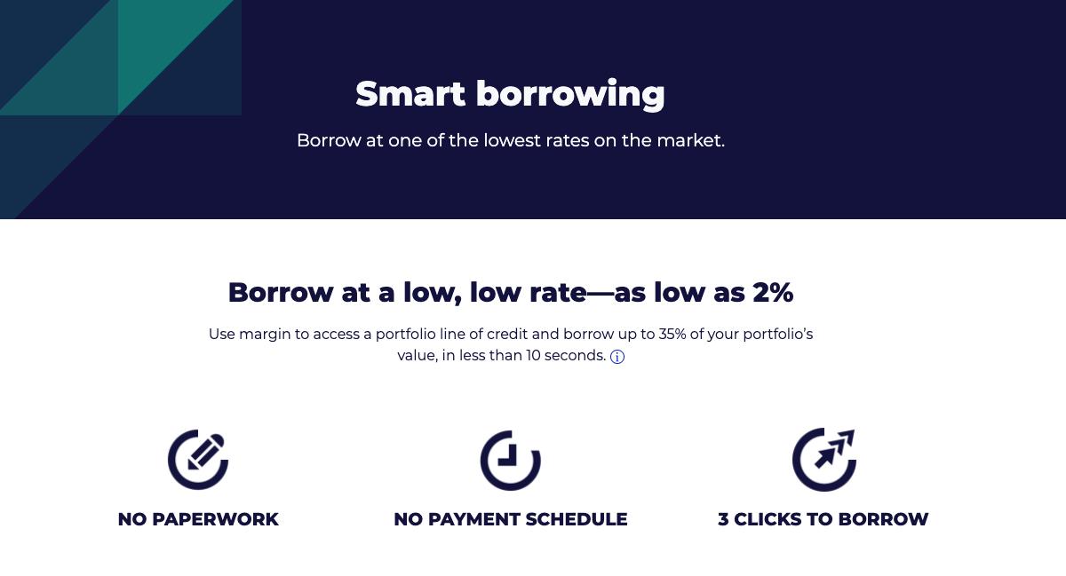 m1 finance borrow