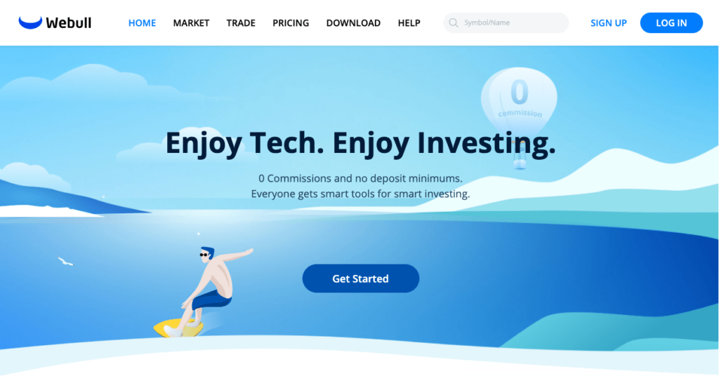 webull home page